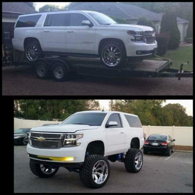 Burb cut into a 2 door | Chevy Tahoe Forum | GMC Yukon ...